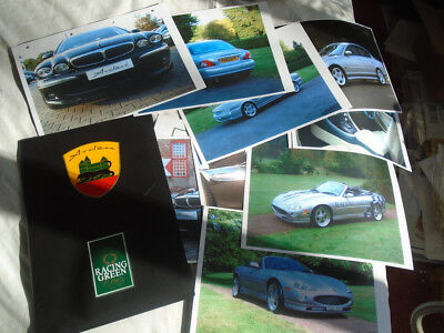 Jaguar Arden portfolio range brochure c2000