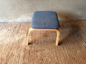 A lovely Small blue stool