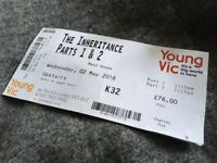 'The Inheritance' part 1+2, great Seat K32 in Stalls