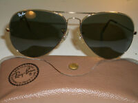 Bausch & Lomb Ray Ban Aviator Sunglasses L2846 Vintage