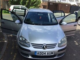 2004 Volkswagen Golf 1.6 FSI S 5dr Full Service History HPI Clear @07445775115@ 07725982426@