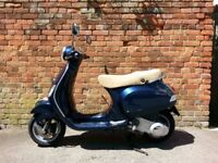 Piaggio Vespa LX125ie - good bodywork, clear & long MOT, new tyres and battery, learner-legal