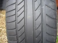Contisportcontact Mercedes GLA original 235x50x18 tyre 7mm in new condition no repairs