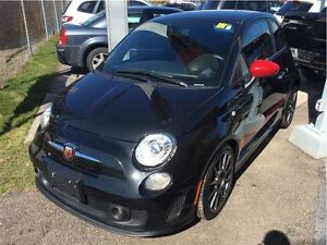 2013 Fiat 500 ABARTH,LEATHER,ALLOYS,TURBO,MANUAL