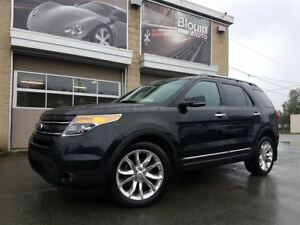 2013 Ford Explorer Limited, AWD, Cuir, Toit Navi, 106780km