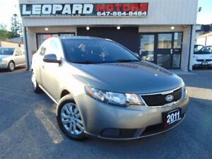 2011 Kia Forte LX,Full Automatic,Bluetooth*No Accident*