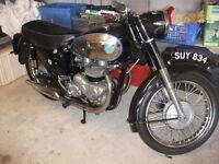 AJS 600 TWIN MODEL 30 1957