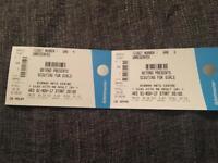 2 x scouting for girls tickets 1/11/17 Birnam