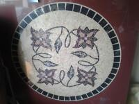Large handmade table.