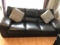 Leather sofa 3 & 2
