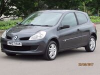CLIO EXTREME 1.5 DCI 58k NEW MOT £30 A YEAR TAX PART HISTORY FACELIFT MODEL STUNNING CONDITION