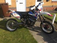 CCM xtr 250 motorbike