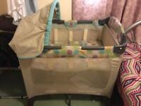 Graco cot bed