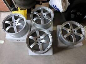 Genuine Rays Alloys Wheels 5x114.3