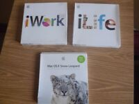 Software Apple Mac iWork 09,iLife,Mac OS X Snow Leopard