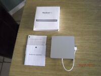 APPLE DVD DRIVER FOR APPLE AIR -APPLE RETINA-AND APPLE IMAC -ORIGINAL BOX WITH