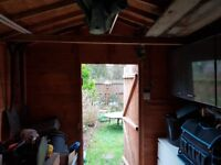 Quality shed measuring 7.5 x 12 feet. Buyer to dismantle and remove.