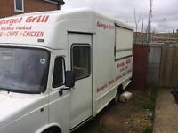 Layland Daf Burger Van