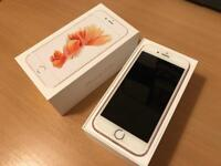 Unlocked Iphone 6s 64gb in Rose Gold with box and original accessories