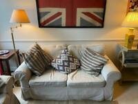 2x IKEA sofa