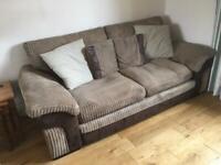 Jumbo Cord Sofa & Arm Chair