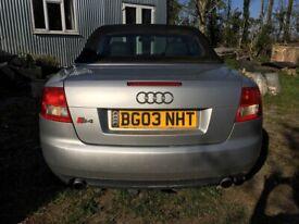 image for Audi, A4, Convertible, 2003, Manual, 2976 (cc), 2 doors