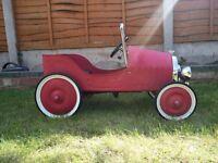Pedal Car - Classic Car Red
