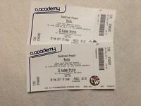 2x Bonobo Circle tickets Sunday 26th Feb Brixton Academy