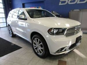 2016 Dodge Durango CITADEL PLATINUM 4X4 w/TECH, DVD