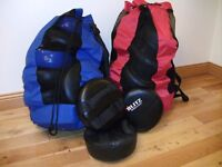 Martial Arts/Boxing round focus/punch pads