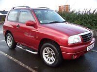 2003 Suzuki Grand Vitara 1.6 Sport 16v-Motd Aug 2017-Full History-4WD-EXCELLENT CONDITION