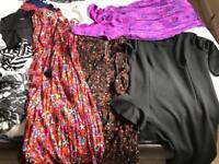 Size 14/16 dresses tops few size 12