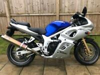 2000 Suzuki Sv650s Y V-Twin Ready for Spring! £££ extras
