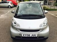 SMART FORTWO AUTOMATIC 2008, 1.0 Petrol, Long Mot, Full Service History,