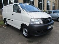 2007 57 Plate Toyota Hiace 2.5 D4D Diesel - Low Mileage - 1 Owner - ***NO VAT***FINANCE AVAILABLE