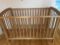 Free Used John Lewis Cot (collection only)