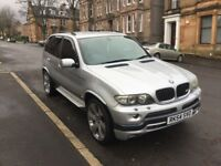 STUNNING BMW X5 SPORT DIESEL. MASSIVE SPEC. £12K IN UPGRADES AND MAINTENANCE.. BEST AVAILABLE