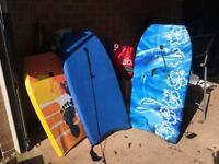 Set of 3 body boards
