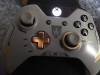 Xbox One Call of Duty Controller or Handset. Limited edition. Wireless.