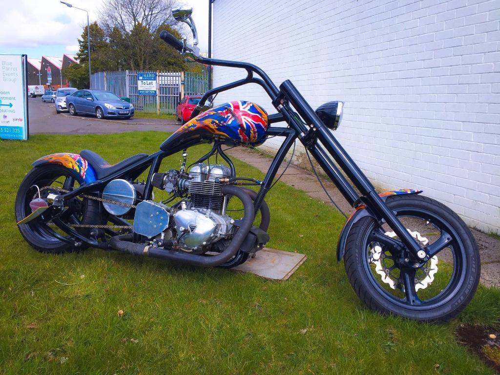 Triumph America Chopper Idea Di Immagine Del Motociclo
