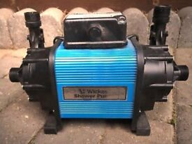 Wickes Twin Impeller Shower Pump 1.5 Bar