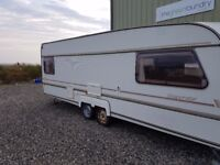 Prestige Superstar twin axle caravan in need of TLC