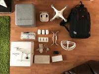 DJI phantom 4 4K Drone with extras