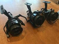 Three sonik sks 6000 reels