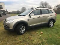 Chevrolet Captiva well maintained, comfortable 7 seater. MOT June 2018