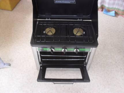 Companion Portable Gas Oven & Stove Cooktop Combo as new