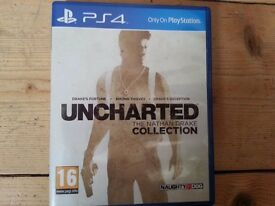 Ps4 game Uncharted collection used condition