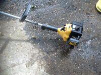 Petrol grass trimmer 2 stroke engine won't start primer bulb not priming