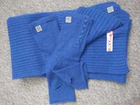 Roxy Scarf & Glovelettes set