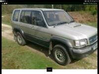 03 isuzu trooper